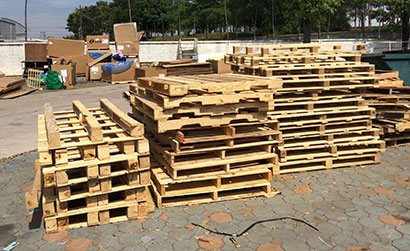 Pallet Recycling Melbourne | Pallets On The Run